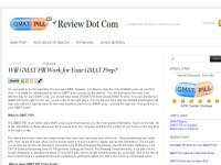 A Detaile Review of GMAT Pill, a GMAT Prep Course