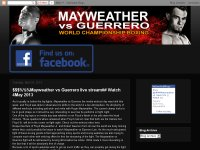$$###Mayweather vs Guerrero || Watch Live Stream