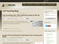 Marketing and Call Tracking Blog