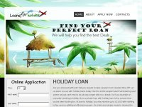 Loans For Holiday