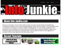 Info Junkie - Tutorials, Information, How To, News