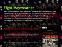 Fight mayweather