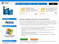 OST Recovery tool convert OST to PST