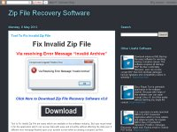 Zip File Recovery Software