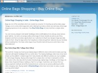 Online Bags Shopping