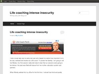 Life coaching intense insecurity