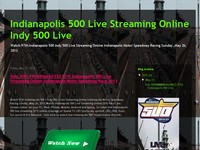 Indianapolis 500  Live Streaming Online Indy 500