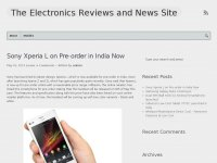 Electronic Appliances News and Reviews