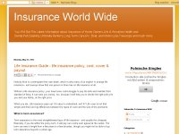 insurance World Wide - best blog for insurance ...