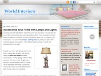 World Interiors, Interiors Designs