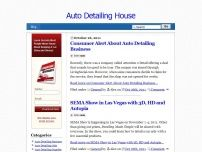 Auto Detailing House