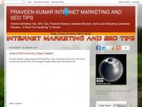 PRAVEEN KUMAR INTERNET MARKETING AND SEO TIPS