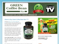 Buy Green Coffee Bean Max ???