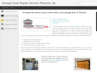 Garage Door Repair Service Phoenix