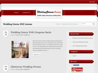 Wedding Gowns 2012 Avenue