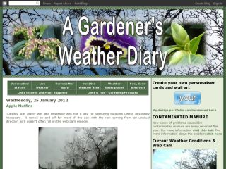 A Gardener's Weather Diary