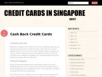 Credit Cards in Singapore