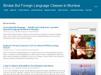 Foreign Language Classes in Mumbai