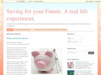 Saving and planning for your Future. A real life e