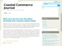 Coastal Commerce Page