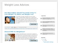 Weight Loss Advices