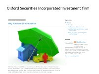 Gilford securities - A leading firm of the Wall St