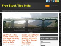 best free stock tips, today free nifty tips,tomorr