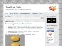 Top Drug Facts