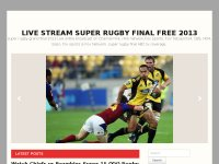 Live stream super Rugby Final Free 2013 online Tv