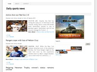 Daily sports news
