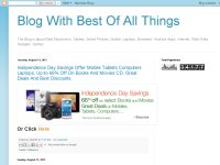 Blog With Best Of All Things