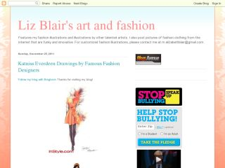 Liz Blair's Art and Fashion