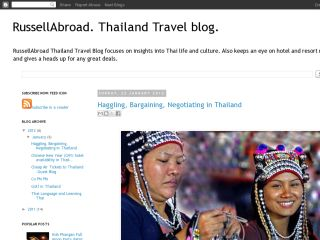 RussellAbroad. A Thailand Travel blog
