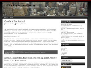 TAX Resources Guides