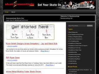 Skatessentials Skateboard Site