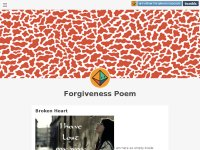 Forgivness poems