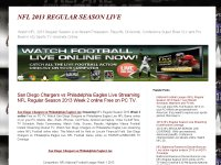 2013 NFL REGULAR SEASON LIVE COVERAGE