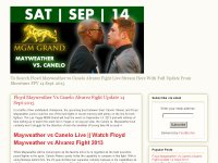 Floyd Mayweather Vs Canelo Alvarez Live Stream@ watch Showtime Boxing 2013