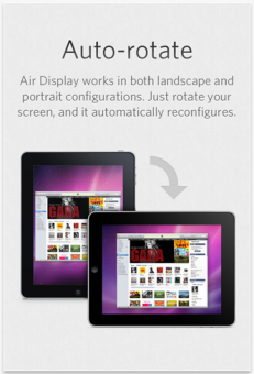 Air Display iPad App