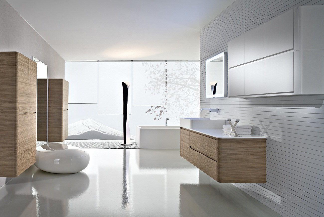 Minimalist bathroom design interior ideas contemporary for Best contemporary bathrooms