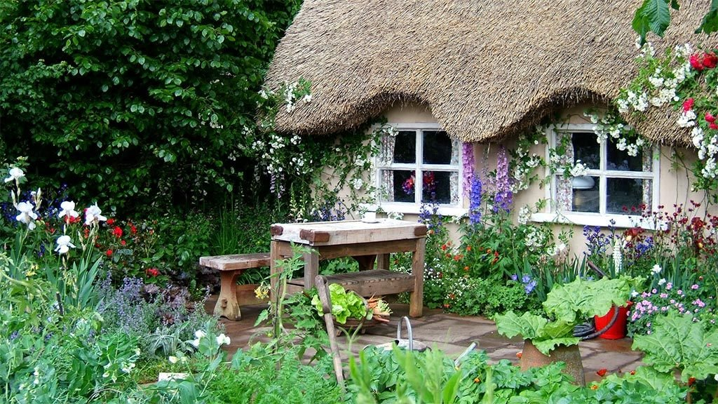 English cottage garden design blogs avenue for Cottage garden plans designs
