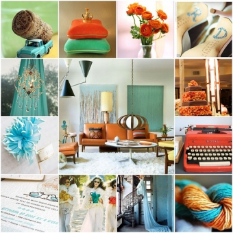 Wedding decor colors