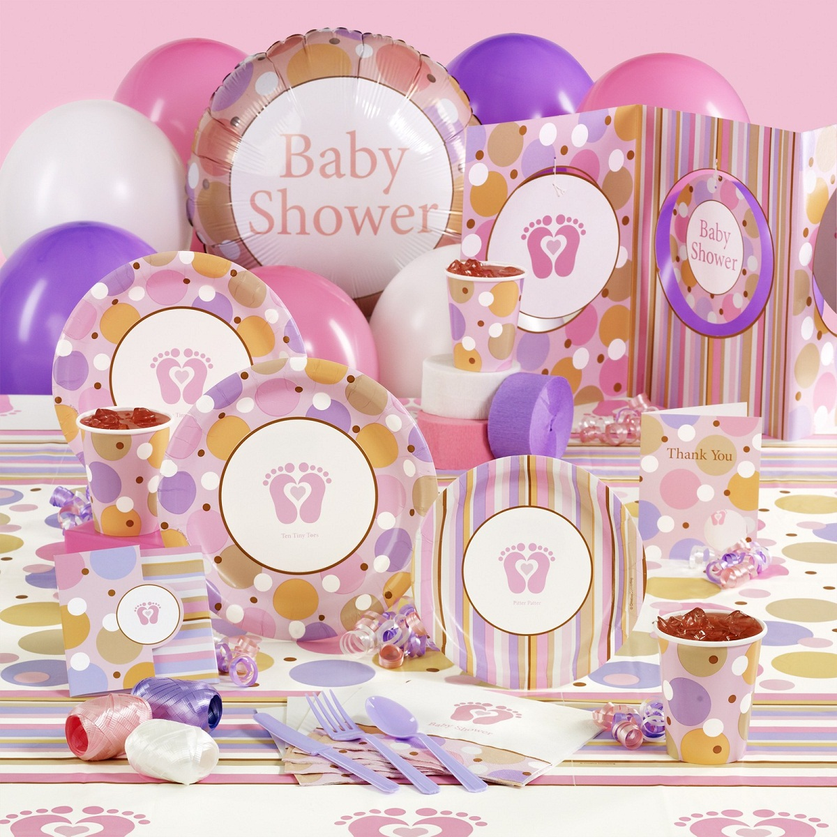 Planning a baby shower best baby decoration for Baby shower decoration kits girl