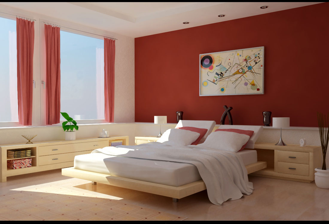 Red bedrooms ideas blogs avenue - Red bedroom decorating ideas ...