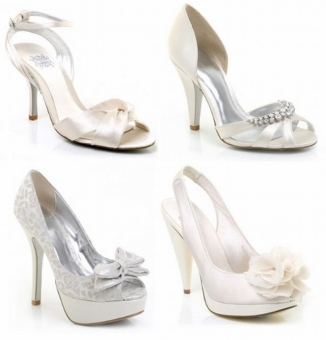 Top Bridal Shoe Trends for 2012