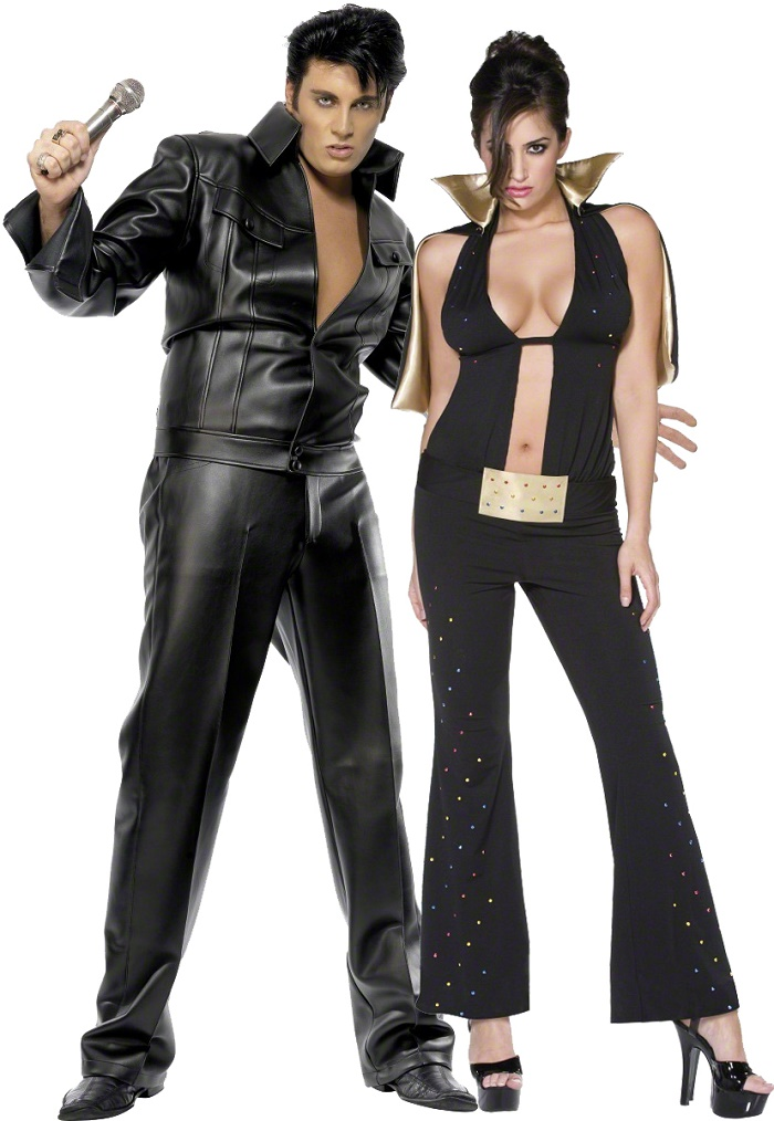 Elvis King and Queen of Rocku0026Roll  sc 1 st  Blogs Avenue : elvis couple costumes  - Germanpascual.Com