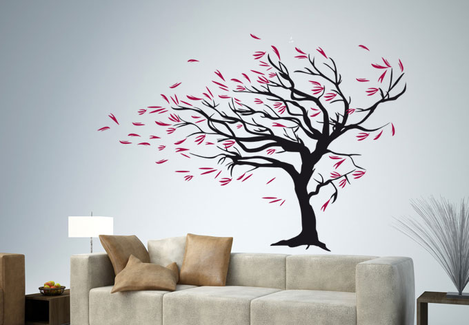 Wall stickers for easy interior design ideas blogs avenue - Easy paint designs for walls ...