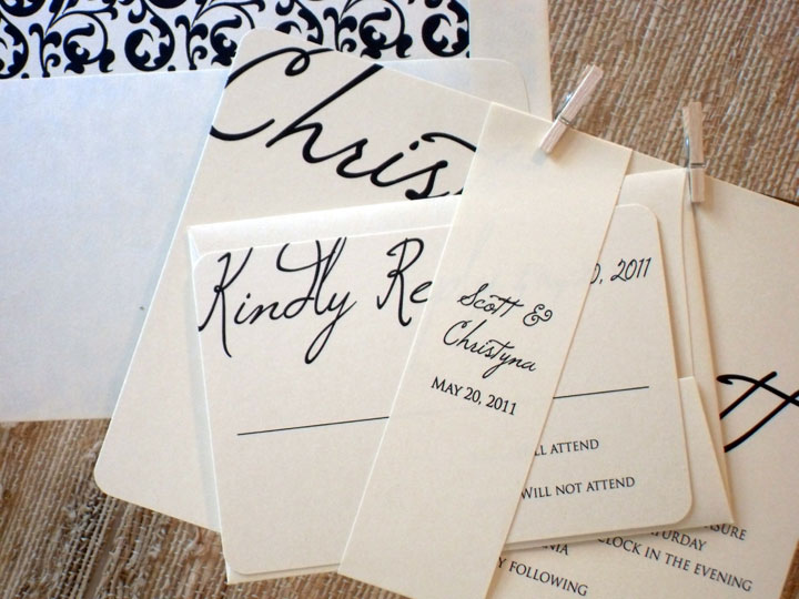 Handwritten Wedding Invites for awesome invitations design
