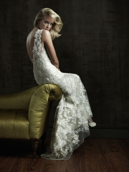 wedding dresses with asymmetrical necklines