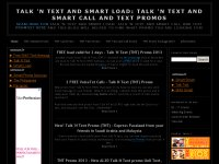 Talk 'N Text and Smart Load: Talk 'N Text and Smar